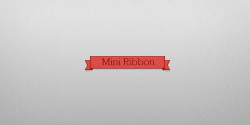 Mini Ribbon by $Ikue