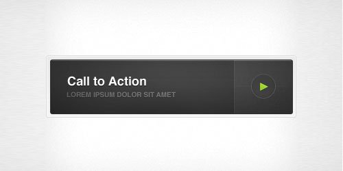 Call to Action Button by Arun Kurian
