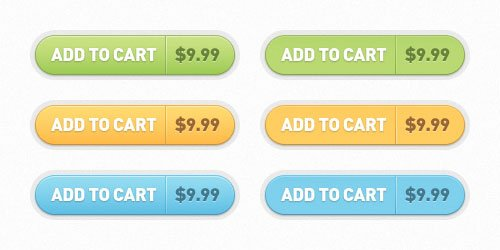 Free PSD: Add to Cart Buttons