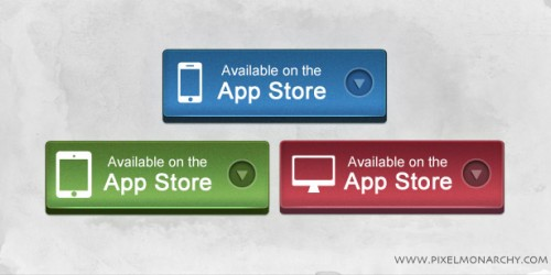App Store (iPhone, iPad, Mac) Button