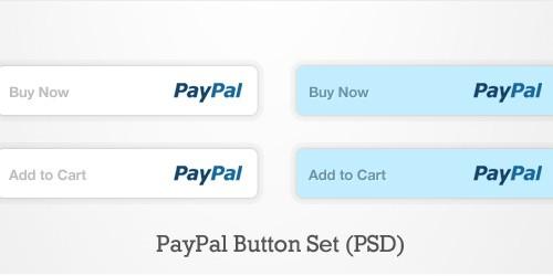 PayPal Button Set (PSD)