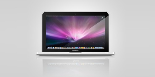 Macbook PSD by ~obsilion