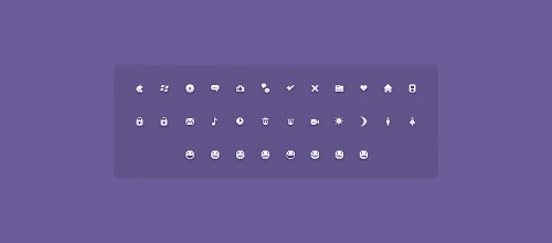 Lindos Micro Icons