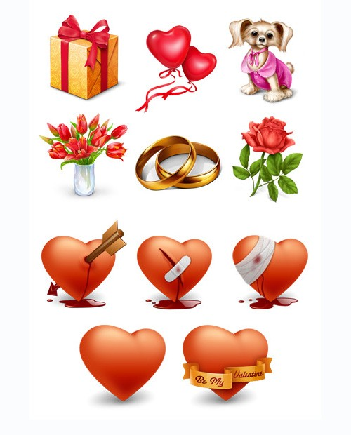Free Icons Valentine's Icons