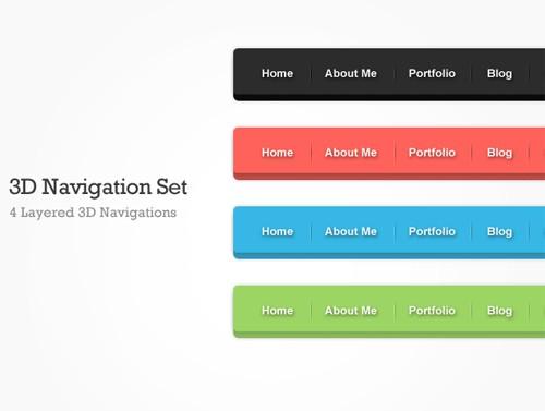 3D Navigation Set