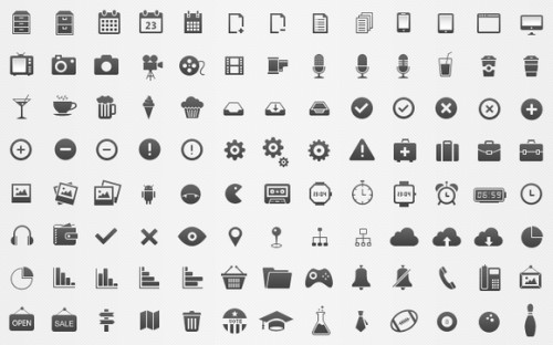Free Icons Set designed by Brankic1979 – Free psd: favbulous.com/post/ui/generic-icon