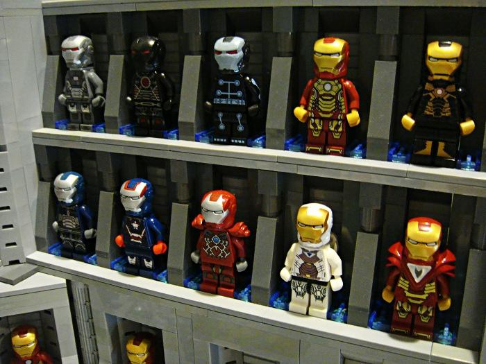 Impressive Lego Iron Man Hall Of Armor Favbulous