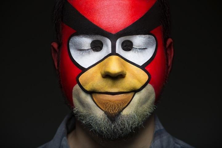 Pop Art Comic Face Paint