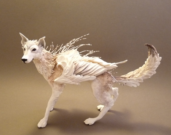 Surreal Hybrid Animal Sculptures by Ellen Jewett | favbulous Facebook Like Button Psd
