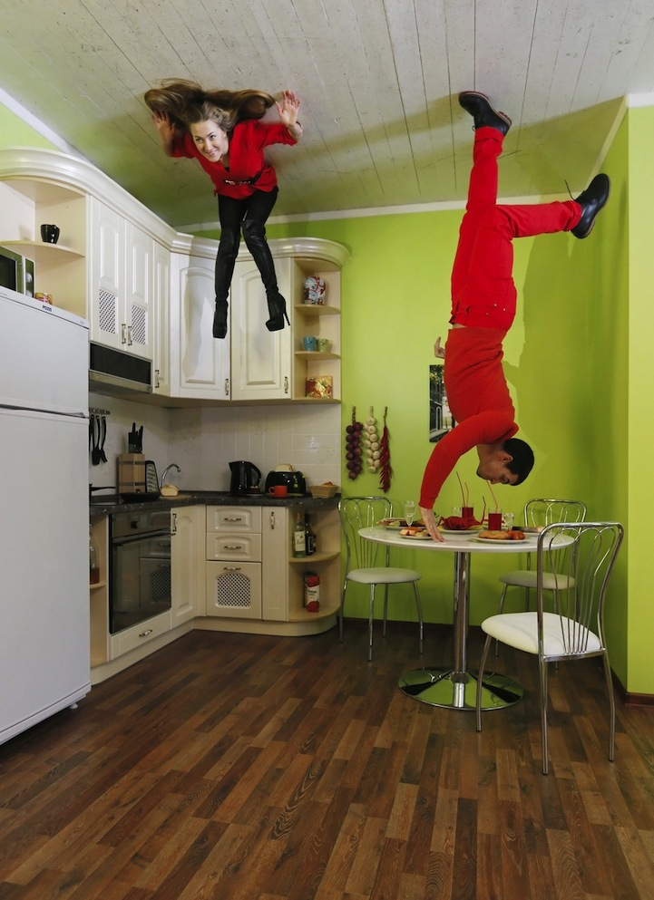 Russia's Upside Down House Defies Gravity | favbulous Facebook Like Button Psd