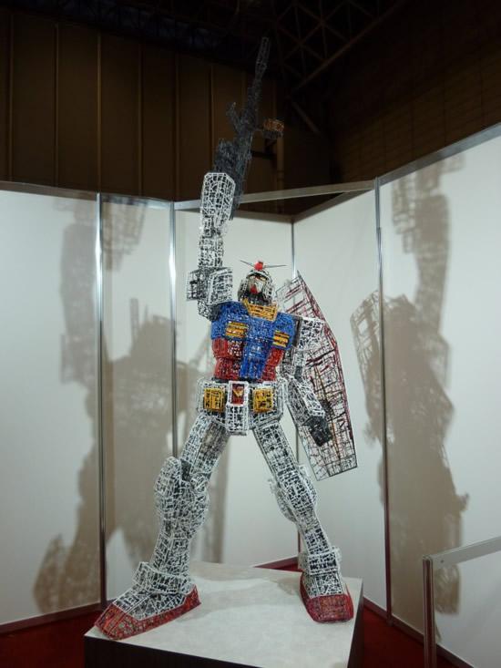plastic-Gundam-replica