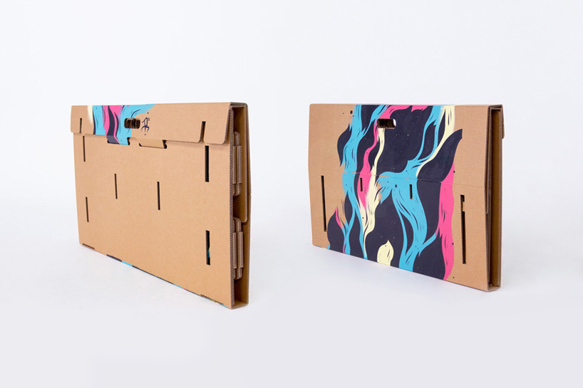 Office Everywhere – Folding Cardboard Tables | favbulous Facebook Like Button Psd