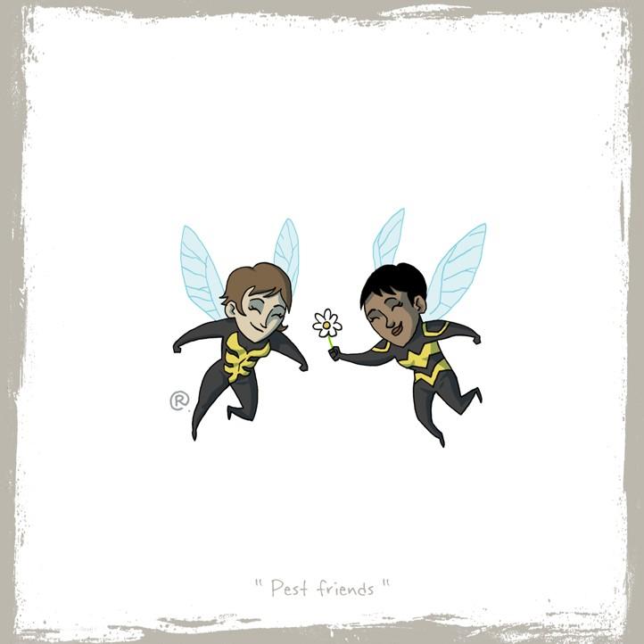 wasp-bumblebee
