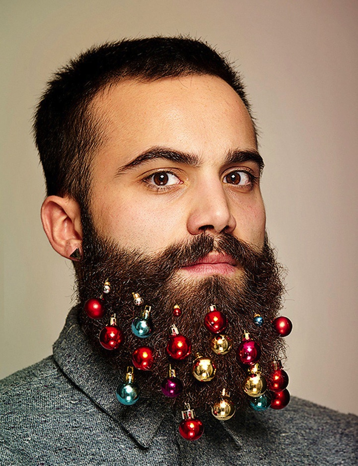 Hairy Christmas! Charity Beard Baubles are an Unexpected Hit ...