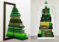 fiber optic Christmas tree -  Most Unusually Creative Christmas Trees Of 2011, Shelf made Christmas t