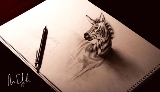 Incredible D Pencil Drawings Favbulous - 29 incredible examples 3d pencil drawings