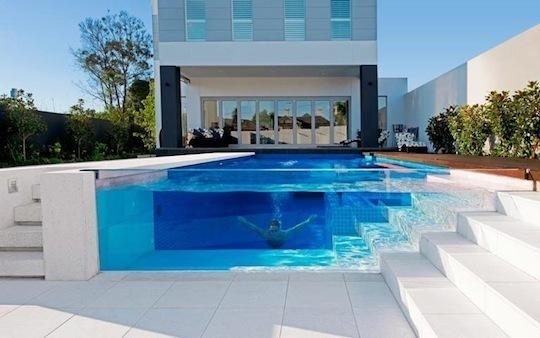 Transparent pool at Elsterwick