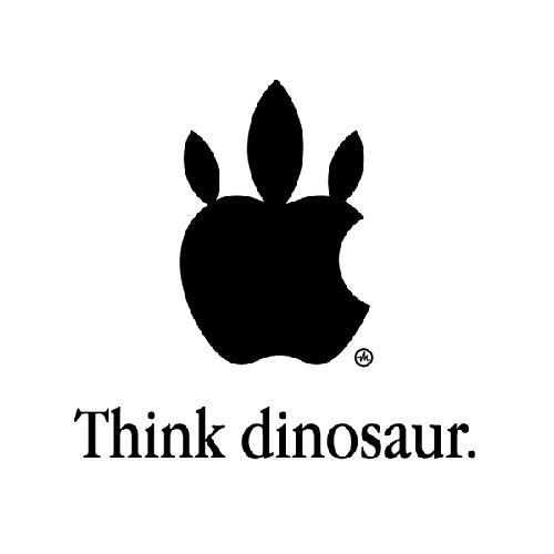 Think dinosaur