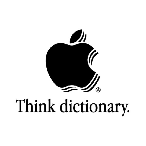 Think dictionary
