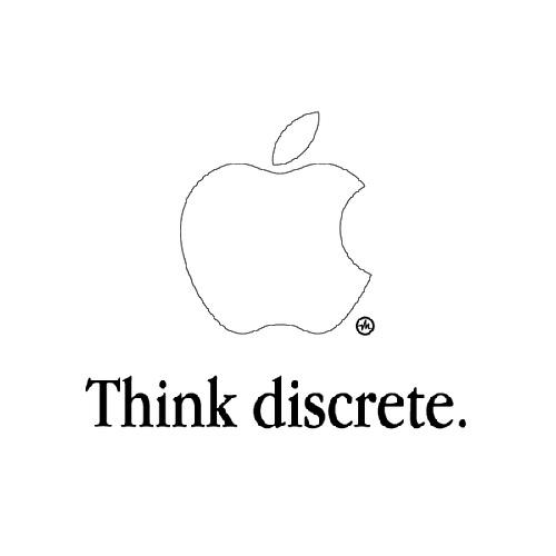 Think discrete