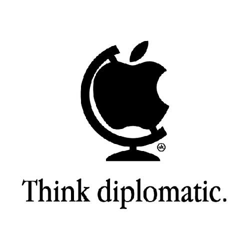 Think diplomatic