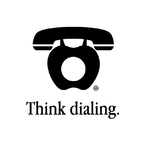 Think dialing