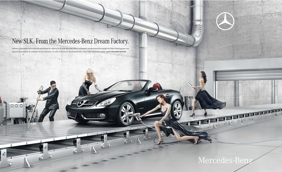 advertisements mercedes cars How amv bbdo helped rejuvenate the mercedes-benz brand.
