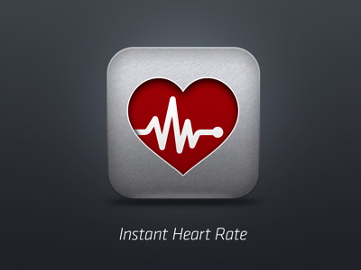 Instant Heart Rate App Icon