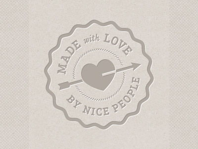 Made with Love by nice people