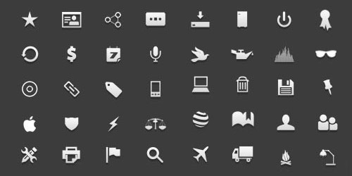 gcons - Open Source Vector Icons