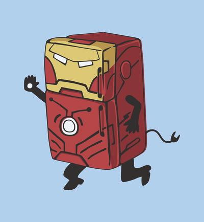 Refrg'r Iron Man