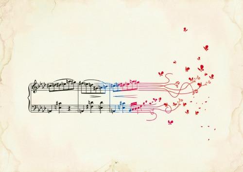 Fluttering Notes