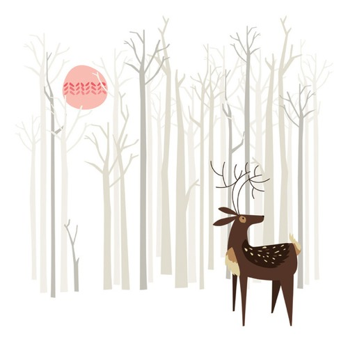 Reindeer of the Silver Wood