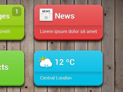 Tablet App UI