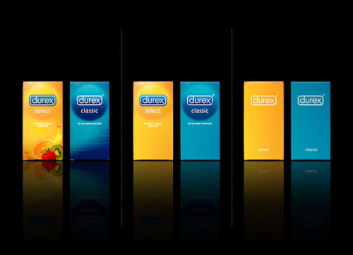 Minimal Product Design - durex