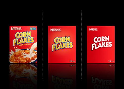 Minimal Product Design - CornFlakes
