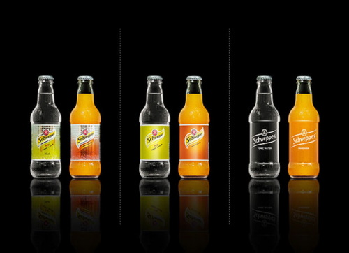 Minimal Product Design - Schweppers
