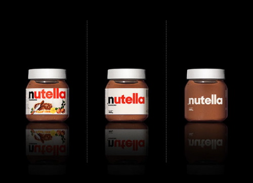 Minimal Product Design - Nutella