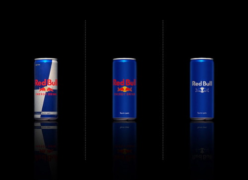 Minimal Product Design - Red Bull