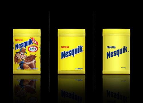Minimal Product Design - Nesquick