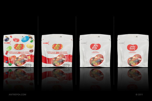 Minimal Product Design - Jelly Belly