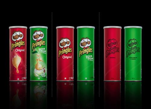 Minimal Product Design - pringles