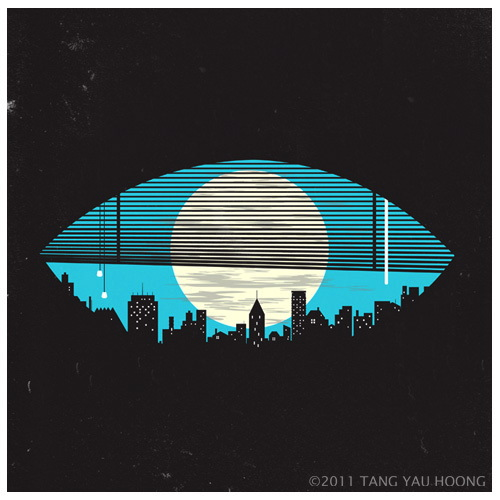 Negative space - Eye on the City