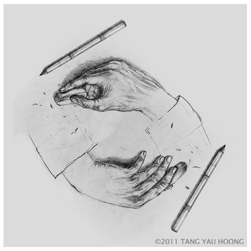Surrealism - Erasing Handsy